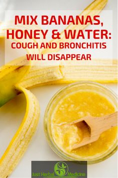 Mix Bananas, Honey and Water: Cough and Bronchitis Will Disappear