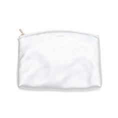 Baggu Large Clutch, Silver // whitesmercantile.com