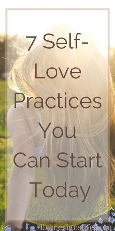 Are you a busy woman faced with numerous demands on your time and energy? Here are seven self-love practices for every day to help you build a positive self-image, and increase your self-worth, and self-love because you are worth it.