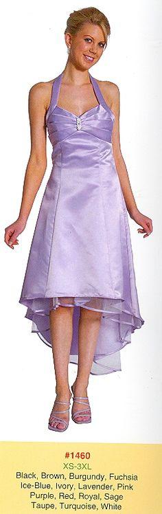 Bridesmaid Dresses under $99 1460 Halter Satin!