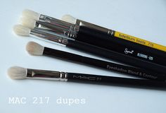 The Black Pearl Blog - UK beauty, fashion and lifestyle blog: MAC 217 dupes - comparison