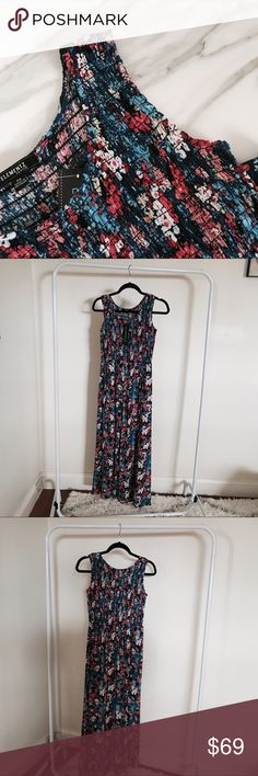 Elementz Floral Maxi Dress *NWT* Elementz Petite maxi dress in a nice floral print! Unlined. Not sheer.   •Size PS •100% Rayon  •Gentle cycle wash  ▫️BUNDLE & SAVE ▫️Smoke/Pet free home ▫️Offers to be submitted by clicking OFFER ⚠️Don't forgot to check out my UPDATES listing for deals & closet info Elementz Dresses Maxi