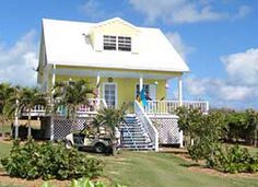 Coconut Cottage (From $1,575 / week)  Elbow Cay and Hope Town, Abaco Bahamas