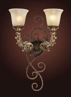 ELK Lighting 2155-2 Regency Two Light Wall Sconce