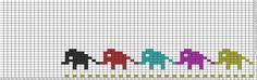 Tricksy Knitter Charts: Elephant Parade copy (77182)