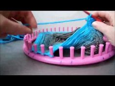 missing part van de vlechtsjaal op de breiring - YouTube