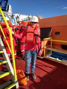 There are four lifeboats fitting 70 people each, and they have enough supplies for 3 days at sea. Drill, Blog, Hole Punch, Drills, Blogging, Drill Press