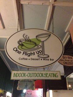 One Flight Up, Coffee, Dessert & Wine Bar Mount Dora, FL