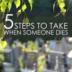 5 steps to take when