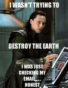 "Tom Hiddleston ""Loki"" Tag Funny LOL (Txt/concept Lärwi @ www.pinterest.com/itsalarwilife) #JustForFun"