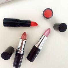 Spring lipsticks we currently own...