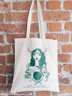 Totebag - Friends with mother earth