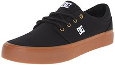 DC Trase TX Unisex Skate Shoe BlackGold 105 M US >>> Details can be found by clicking on the image.
