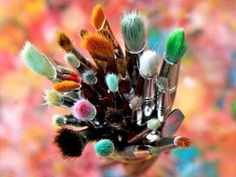 Pinceles para pintar fofuchas