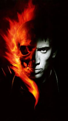 Ghost Rider 2007 / Ghost Rider Stunt motorcyclist Johnny Blaze gives up his soul to become a hellblazing vigilante, to fight against power hungry Blackheart, the devil's son. Ghost Rider 2 Movie, Ghost Rider 2007, Ghost Rider Johnny Blaze, Ghost Rider Marvel, Nicolas Cage, Ghost Rider Wallpaper, Marvel Wallpaper, Gost Rider, Ghost Rider Tattoo