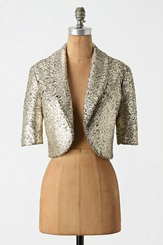 Golden Fleece Bolero - Anthropologie - $158