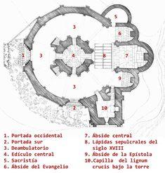 Theatrical Scenery, Vera Cruz, Romanesque, Architecture Plan, Kirchen, Archaeology, Art Reference, Concept Art, Medieval