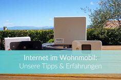 Internet im Wohnmobil ✅ Ratgeber mit den besten Tipps für eine stabile Internetverbindung weltweit ➤ Jetzt lesen! Camper, World, Outdoor Decor, Travel, Mobiles, 4x4, Europe, Wi Fi, Camper Van Conversions