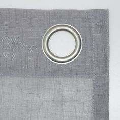 Shop for Archaeo Slub Textured Linen Blend Grommet Top Curtain. Get free delivery On EVERYTHING* Overstock - Your Online Home Decor Outlet Store! Cool Curtains, Beautiful Curtains, Hanging Curtains, Curtain Fabric, Curtain Rods, Window Curtains, Curtain Styles, Texture