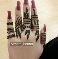 Latest Finger Mehndi Designs, Rose Mehndi Designs, Henna Tattoo Designs Simple, Stylish Mehndi Designs, Full Hand Mehndi Designs, Henna Art Designs, Mehndi Designs For Girls, Mehndi Designs For Beginners, Mehndi Design Photos