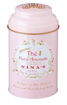 Marie Antoinette tea - apple and rose flavored