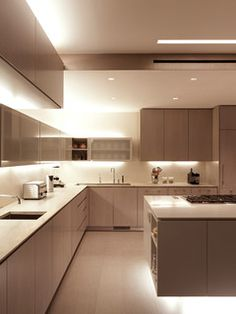 Brooklyn Heights Townhouse - contemporary - kitchen - new york - by SPG Architects