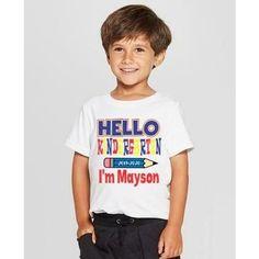 1st Day of Kindergarten Shirt for Boy - 1st Day of Preschool Shirt Boy - 4T Toddler shirt