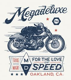 Megadeluxe by Damian King, via Behance