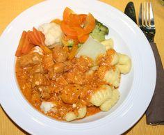 Rezept Hähnchentopf mit Gnocchi von Claudia277 - Rezept der Kategorie Hauptgerichte mit Fleisch