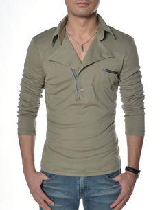 222e15284275     Theleesshop     All mens slim   luxury items. Slim ManLuxuryT Shirt DelgadoClothesMen CasualFashionClothing ...