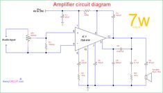7w differential amplifier circuit data set \u2022