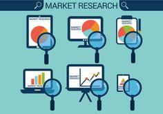 Market Research Vectors Market Research, Vectors, Icons, Marketing, Symbols, Ikon