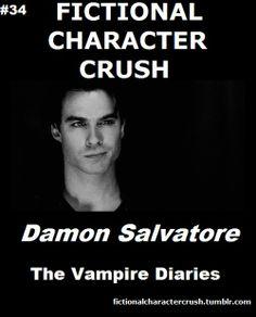 #34 - Damon Salvatore from The Vampire Diaries