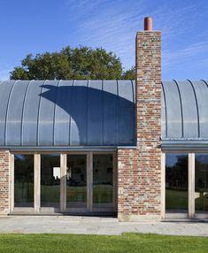 barrel vaulted farmhouse extension