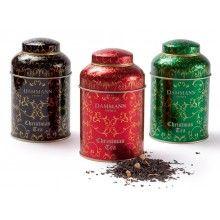 Beautiful luxury tea tins from Dammann Freres