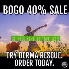 BOGO 40% sale. Limited time offering.