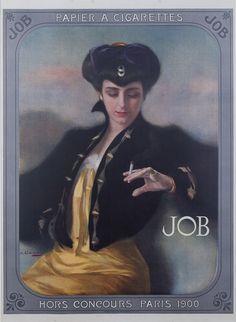 Papier à cigarettes Job - 1900 -