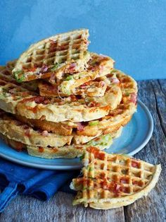 Waffle Recipes, Baby Food Recipes, Wine Recipes, Cooking Recipes, Food Baby, Food Porn, Norwegian Food, Healthy Snacks, Healthy Recipes
