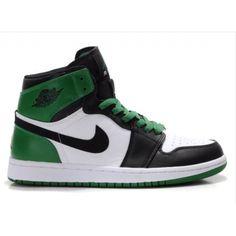 d59dff311159 Air Jordan Retro 1 High Boston Celtics White Black Green 332550 cheap Jordan  If you want to look Air Jordan Retro 1 High Boston Celtics White Black Green  ...