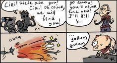 The Witcher 3, doodles 4 by Ayej on DeviantArt