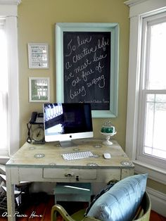 Our Prairie Home: Homemade Chalk Paint Recipe