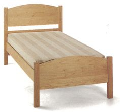 Four In One Maple Bed Frame - Great for children, teenagers and college students
