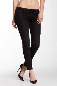 Etienne Marcel Skinny Leg Moto Jeans