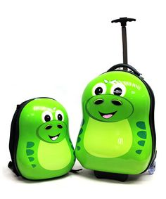 P-REX the Dinosaur Trolley Case & Backpack Luggage Set