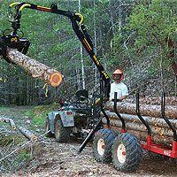 900tr hydraulic log loader | 900Tr Hydraulic Log Loader | Wood Hauling | ATV Accessories | www ...