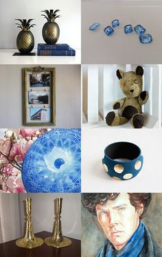 216 - Blue Gifts by Ilona on Etsy--Pinned+with+TreasuryPin.com