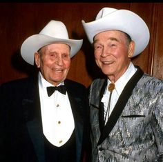 Gene Autry and Roy Rogers. ★