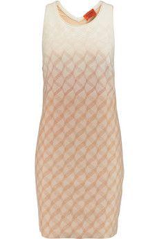 MISSONI - Crochet-Knit Wool Mini Dress