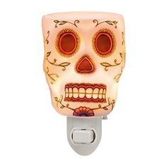 CLICK HERE TO BUY Calavera (representation of human skull), glows when lit!, a most popular