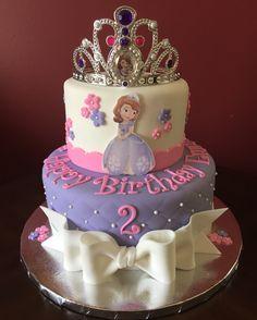 birthday.quenalbertini: Sofia the First Birthday Cake